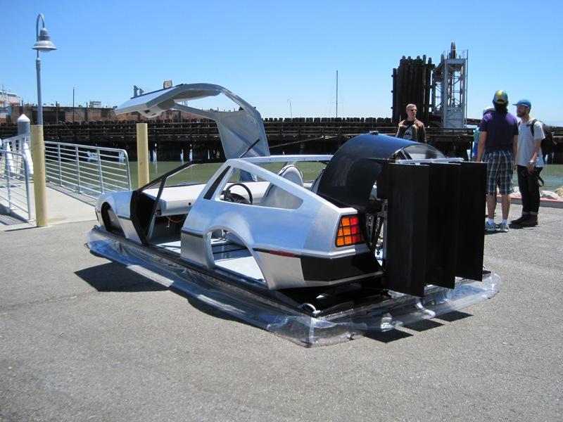 The Delorean Hovercraft Know Tech